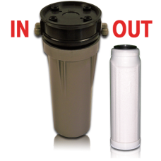 Single Sediment-E.Coli-Bacteria-VOC Reduction Cartridge w/Housing