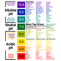 FREE Alkaline pH Food Chart to Print & Post on Your Refrigerator