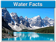 Water Facts - Learn about the importance of water.